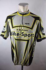 Agu equipo deporte bike bike Cycling Jersey maglia rueda camiseta talla XL 57cm j-09
