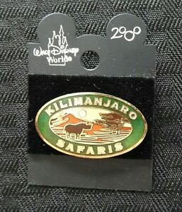 "Walt Disney World 2000 ""ANIMAL KINGDOM KILIMANJARO SAFARI"" ENAMEL PIN minty"