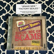 Scott & Todd's Big Ol' Bag of Scams 2 CD Set (from 95.5 WPLJ) *BRAND NEW SEALED*