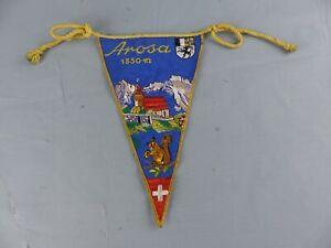 FANION PENNANT AROSA 1850 m SWISS SCHWEITZ SUISSE Switzerland WIMPEL BANDERIN