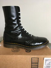 80s Vintage Dr Martens Hawkins Astronauts US 12 boots 10-eye doc shoes 1490 uk11
