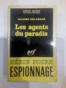 Livre Espionnage, Les Agents Du Paradis