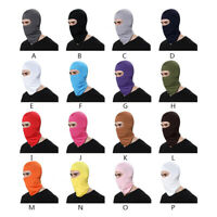 Motorcycle Cycling Balaclava Lycra Outdoor Soft Ski Full Face Mask Neck Cover