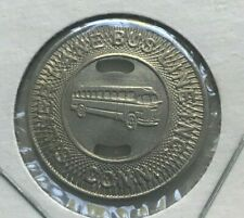 Manchester Connecticut CT Silver Lane Bus Line INC Transportation Token