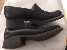 Wittner Black Leather Loafer 8.5