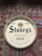 Vintage Stoney's Beer Serving Tray