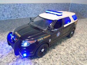Florida Highway Patrol Interceptor w/ Working Lights and Siren