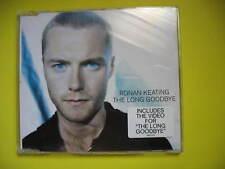 RONAN KEATING-THE LONG GOODBYE. 2003 4 TRACK CD SINGLE + VIDEO. POP DISCO DANCE