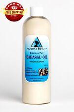 BABASSU OIL ORGANIC CARRIER COLD PRESSED NATURAL FRESH PREMIUM 100% PURE 36 OZ