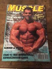 Le Monde Du Muscle N 122 Mai 1993 Body Building Force Mise En Forme Vintage
