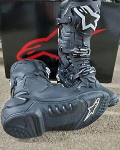 Alpinestars Tech 10 Black Size 10 Mx Offroad Boots