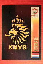 Panini EURO 2008 N. 259 SCUDETTO NEDERLAND NEW With BLACK BACK TOPMINT !!!