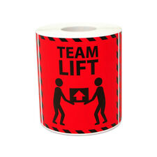 Shipping Team Lift Sticker Labels Warehouse Postage Transport Package 3