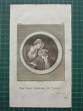 1797 LAVATER PHYSIOGNAMY ESSAY & 16 PLATES Vol 2 LECTURE 10 CALAIS FAREWELL