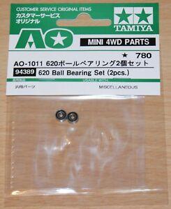 Tamiya 94389 620 Ball Bearing Set (2 Pcs.) (Avante 2011/Egress/Vajra/VQS), NIP