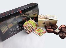 Kosher Wissotzky Tea & Dreams Gift Box with Kosher Belgian Chocolates, Dairy