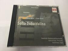 Sofia Gubaidulina: Concordanza; Meditation; Seven Works  CD 782124111328