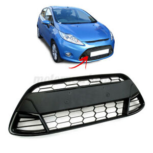 Front Bumper Lower Grille Centre For Ford Fiesta MK7 08-13 Sport Asian Style
