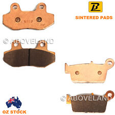 FRONT REAR Sintered Brake Pads for HYOSUNG RX 400 2005