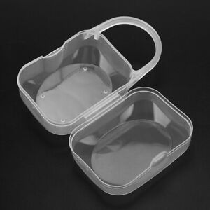 Pacifier Storage Box Baby Infant Transparent PP Pacifier Soothing Nipple Case