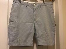 Polo Ralph Lauren Seersucker Shorts Size 36 Authentic Seersucker Summer Cloth
