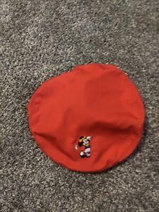 Disney Mickey Mouse Pro Ajustable Blue Newsboy Cabbie Golf Cap