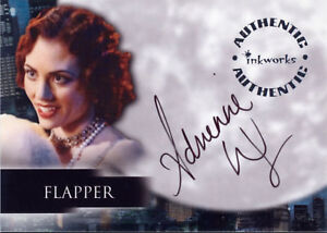 Angel Season 4 Autograph Card A32 Adrienne Wilkinson