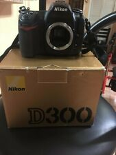 Nikon D D300 12.3MP Digital SLR Camera - Black NIKON D X VR AF-SNIKKOR 55 200 MM