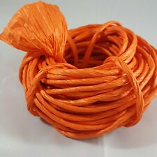Twisted Paper Ribbon Orange Pumpkin 20 Yds arts crafts