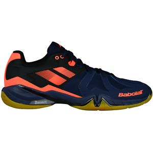 Babolat Shadow Spirit Badminton Squash Indoor Sport Shoes blue 30S1803 297 SALE