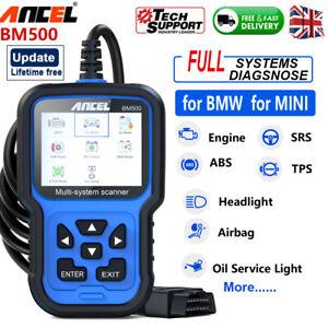 ANCEL All System OBD2 Code Reader ABS EPB OIL Car Diagnostic Tool for BMW/MINI