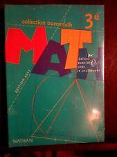 Transmath 3e, édition spécciale pour le professeur (2003), NATHAN