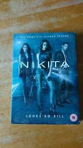 Nikita - Series 2 - Complete (DVD, 2012, 5-Disc Set) brand new factory sealed