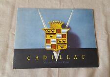 1946 Cadillac Standard of the World Prestige catalog brochure NICE