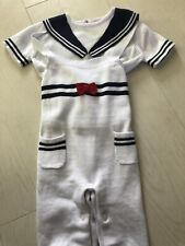 Designer Knitted Baby Boy's Sailor Outfit