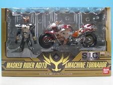 [FROM JAPAN]S.I.C. VOL.40 Kamen Rider Agito & Machine Tornader Action Figure...