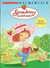 How to Draw Strawberry Shortcake ART Book KIDS Brand New DRAWING Guide LEARN