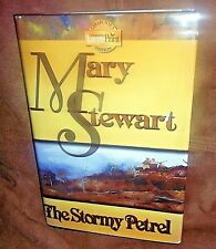 The Stormy Petrel by Mary Stewart LARGE PRINT Collectors Edition 1991 Hardcover