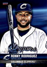 2017 Columbus Clippers Choice #27 Ronny Rodriguez Dominican Republic DR Card