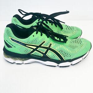 Asics Gel Kayano 23 Men's US 7 Running Shoes Sneakers T618N Green/Black