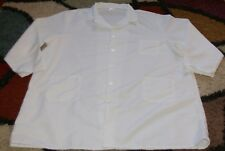 "Best Medical Men L/S Lab Coat 3 Pockets & Side Vents 42"" Length White Size 4X"