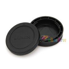 Rear Lens+Body Cap Cover Fr Panasonic Lumix DMC-GF3 GF2 GF1 G10 G3 G2 G1 GH2 GH1
