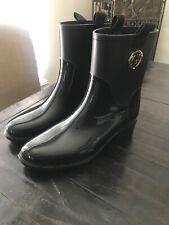 Guess Short Rain Boots Size 10 Black