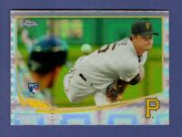 2013 TOPPS CHROME GERRIT COLE RC XFRACTOR REFRACTOR #210 PIRATES