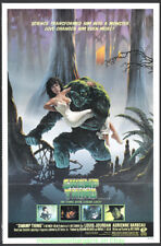 THE SWAMP THING MOVIE POSTER Original 27x41 Folded One Sheet 1982 HORROR  N.Mint