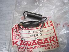 KAWASAKI NOS BRAKE SHOE SPRINGS KM AR50 F3 F4 F6 F7 G3 G4 G5 KX KD KDX 41049-002