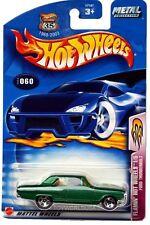 2003 Hot Wheels #60 Flamin' Hot Wheels Ford Thunderbolt 0711 card