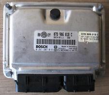 VW W8 Passat Bosch Motorsteuergerät 07D906018C