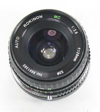 Rokinon Wide Angle 28mm F2.8 Lens For Canon T90, AE-1, F-1, A-1, AV-1