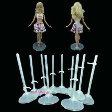 10 Gut Puppe TransparenStand Stützen Mannequin Modell Halter Für Barbie Zubehör